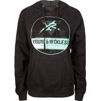 YOUNG &amp; RECKLESS Upside Down Womens Hoodie