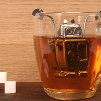 Kikkerland Design Inc    Products   Robot Tea Infuser