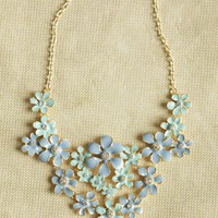 fragrant field floral necklace at ShopRuche.com