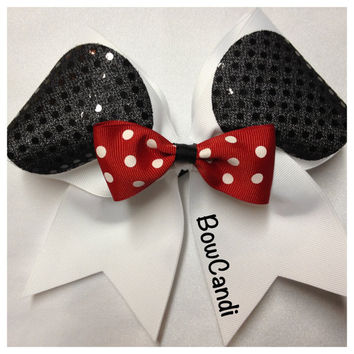 Minny Mouse by BowCandi on Etsy