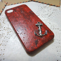 Anchor iPhone 4S Case fits for iPhone 4 Case, iPhone 4s Case, iPhone 4 Hard Case, iPhone Case