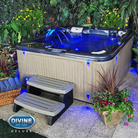 Divine Hot Tubs DL-420 Deluxe 65-jet, 4-person Spa