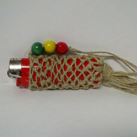 Lighter Cozy On a Lanyard