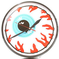 Mishka The Keep Watch Wall Clock in White : Karmaloop.com - Global Concrete Culture