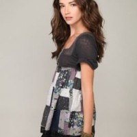Quilted Treasures Tunic at Free People Clothing Boutique