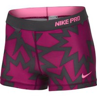 "Nike Women's 2.5"" Printed Pro Compression Shorts - Dick's Sporting Goods"