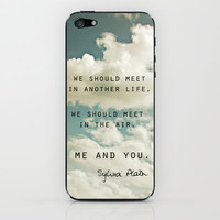 Sylvia: Air iPhone &amp; iPod Skin by Leah Flores Designs | Society6