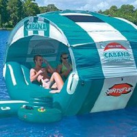 SportsStuff Cabana Islander Floating Lounge: Toys &amp; Games