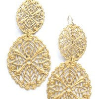 Antique Glam Earrings-Handmade - Jewelry