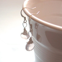 AAA Grade Rose Quartz Briolette Sterling Silver by SovereignSea