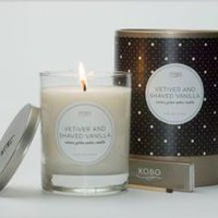 Kobo Candles - Vetiver and Shaved Vanilla