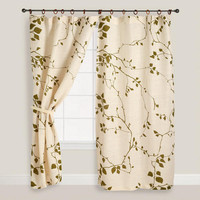 Lyrical Branches Window Curtain | World Market