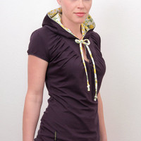 hoodie shirt 5 designs purple flowers by stadtkindpotsdam