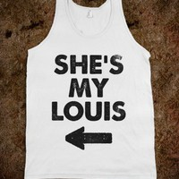 She&#x27;s My Louis (Alternate Tank) - B F F - Skreened T-shirts, Organic Shirts, Hoodies, Kids Tees, Baby One-Pieces and Tote Bags