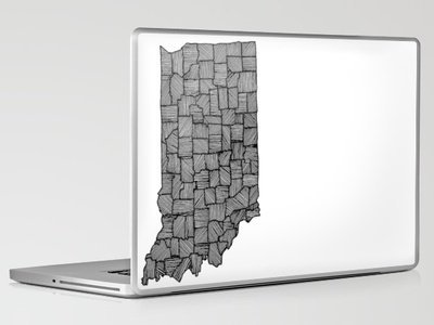 Indiana Lines Laptop & iPad Skin by Romi Vega | Society6
