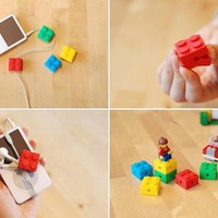 INFMETRY:: LEGO Style Earphone Winder - Phone Accessories - Electronics