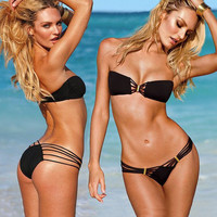 Strapless Sexy Black Bikini from New Fashion Boutique