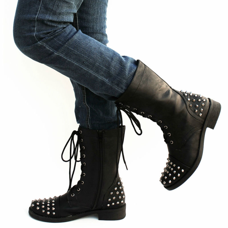 Similiar Studded Combat Boots Forever 21 Keywords
