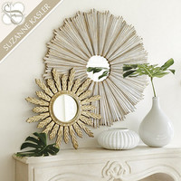 Suzanne Kasler D'or Sunburst Mirror | Ballard Designs