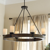 Arturo 6 light Chandelier | Ballard Designs