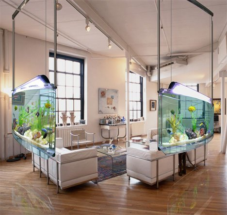Wall Hanging Fish Tank - OpulentItems.com