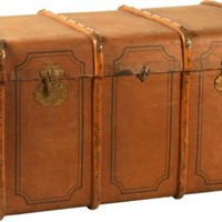 One Kings Lane - Kimberly & Darrell Lynn - Danish Canvas Trunk