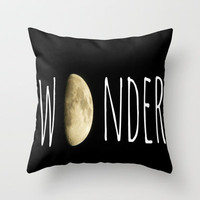 Wonder Throw Pillow by Ally Coxon | Society6