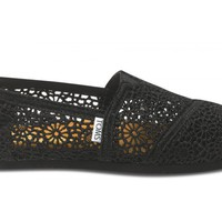 Black Crochet Women&#x27;s Classics FREE Shipping | TOMS.com