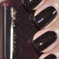 Nightfall  Plum Nail Polish 15ml (.5oz)