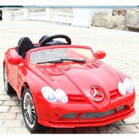 4CH Remote Controlled Electric Licensed Mercedes Benz Ride-On Sports Car for Kids Ages 2-4 with Lights & Music 2 motors 12 volts NEW 2013