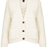 Knitted Stitch Slouch Cardi - New In This Week  - New In
