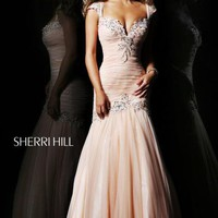 Sherri Hill Prom Dresses and Sherri Hill Dresses 21069 at Peaches Boutique