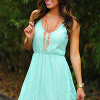 Feeling So Alive Dress: Mint | Hope&#x27;s