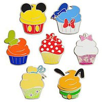 Disney Character Cupcake Pin Set - 7-Pc | Disney Store