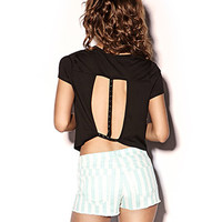 Pyramid Studded Trapeze Top