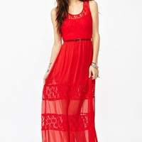 Laced Maxi Dress in  Clothes at Nasty Gal