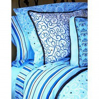 Caden Lane Luxe Boy Full/Twin Sheet Set - 1LXBTSS/2LXBFSS - Sheets - Bed &amp; Bath