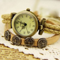 Cute  Totem Tree of Life Retro Watch