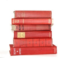 Red Books 6 Classic Vintage Collection Interior by jaysworld