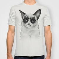 Grumpy Cat, Tard Simmons, KISS Mashup T-shirt by Olechka | Society6