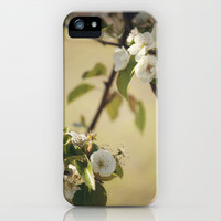 Pear Blossom iPhone Case by CMcDonald | Society6