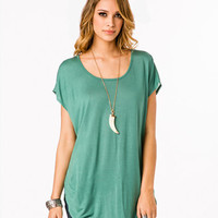 Button Back Tunic | FOREVER 21 - 2014164936