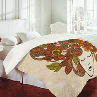 Valentina Ramos Its All In Your Head Duvet Cover