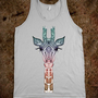 *** CUTE GIRAFFE *** Get this cute design by Monika Strigel  now on TANK TOP or customize your own style on skreened.com