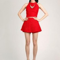 Scarlet Tweed Two Piece Playsuit