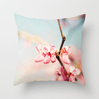 4 Little Blooms Throw Pillow by Bree Madden  | Society6