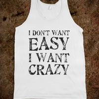EASY/CRAZY - Southern - Skreened T-shirts, Organic Shirts, Hoodies, Kids Tees, Baby One-Pieces and Tote Bags
