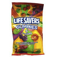 Lifesavers Five Flavor Gummies 7-oz.