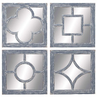 4 Piece Alaine Wall Mirror Set