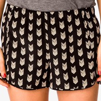 Geo Print Dolphin Shorts